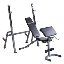 Adjustable Folding Sit Up Bench Barbell Weight DIP Station Lifting