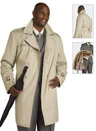 ej samuel mens beige belted trench coat c006