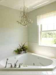 Chandelier Over Bathtub Soaking Tub by Corner Soaking Tub Big Enough For Two For The Home Pinterest