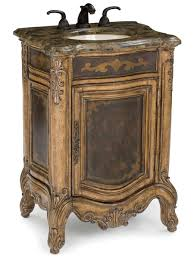 Distressed Cherry French Country Bathroom Vanity 20 small bathroom vanities that are big on style rustic decor
