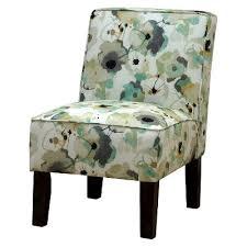 burke accent print slipper chair polly aegean target