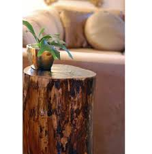 tree stump coffee table and how to make it making tree stump