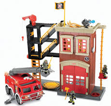 Buy Fisher Price Imaginext Fire Truck Playset In Cheap Price On ... Blaze And The Monster Machines Transforming Fire Truck Samko Vintage 1968 Fisherprice Fp Engine Pullalong Toy 720 2017 Mattel Fisher Little People Helping Others Ebay Roller Blocks Walmartcom Price Dalmatian Dog Lights Original Wooden White Tracys Toys Some Other Stuff Trucks Looky Fmn98 You The Station Complete With Car 500 In Nickelodeon Bourne Lincolnshire Gumtree