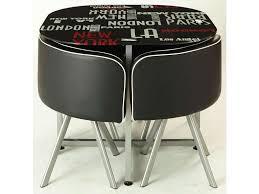 conforama table pliante cuisine table de cuisine pliante avec chaises intgres affordable emouvant