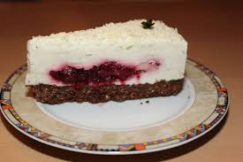 zitronen joghurt torte mit kirschen