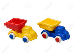 Trucks Plastic Toy For Kids To Have Fun With There Learning Stock ...