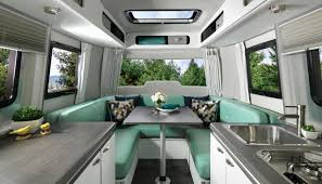 100 Inside Airstream Trailer S Nest Is A Cozy Futuristic Trailer
