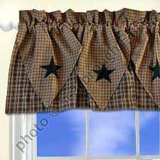 French Country Kitchen Curtains Ideas by Country Swag Curtains Jenny Country Ruffled Curtain Primitive