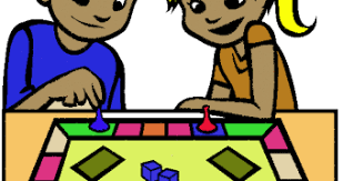 Family Board Game Clipart