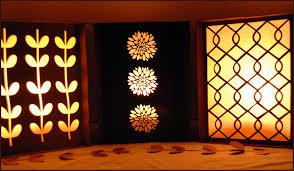 Square Paper Lantern Luminary Party Craft