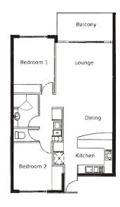 Spectacular Apartment Floor Plans Designs by Lovely Floor Plan 2 Bedroom Apartment For Your Home Interior