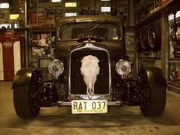 Man Cave Shed Hot Rod Rat Muscle Car Garage