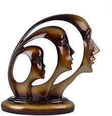 de zxl ornamente harz skulptur moderne