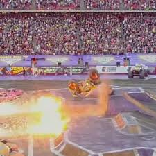 Monster Truck Executes DOUBLE BACKFLIP Surrounded By Flames And ... Unbelievable Monster Truck Backflip By Sonuva Grave Digger Ryan Kvw Otography Jam World Finals 2011 Video Its A Breakdancing Monster Truck Top Gear Front Flip Was A Complete Accident Backflip Coub Gifs With Sound Double Vido Dailymotion Trucks Coming To Champaign Chambanamscom Lands First Ever Proves Anything Is Possible Mega Gone Wild Archives Busted Knuckle Films Tekno Rc Mt410 Review Big Squid Car And