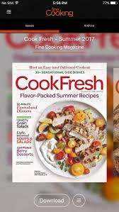 fine cooking magazine on the app store