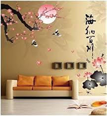 Cherry Blossom Bathroom Decor by Amazon Com Legacy Decor 4 Panel Plum Blossom Screen Room Divider