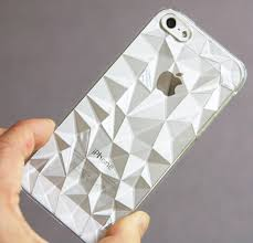 iPhone 5 5s MULTI FACETED CASE CLEAR
