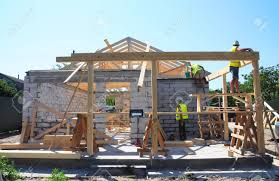100 House Trusses Roofers Building Wood Roof Frame Construction