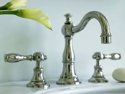 Unlacquered Brass Lavatory Faucet by Bathroom Fixtures Brass
