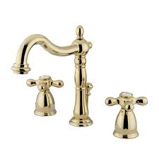 Polished Brass Bathroom Faucets by Shop Elements Of Design New Orleans Polished Brass 2 Handle