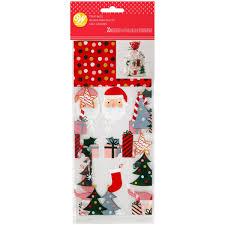 Wilton Pochettes Cadeaux Père Noël Pcs20 Wilton NOEL 19124281