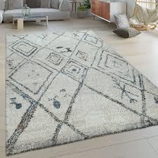 orient teppich creme beige wohnzimmer kurzflor ethno design