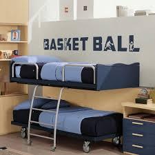 chambre basketball sticker déco basket texte http artandstick be