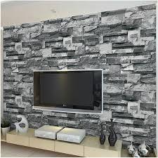 beibehang drei 3 dimensionale simulation marmor tapete stein muster ziegel wohnzimmer tv hintergrund wand hotel tapete