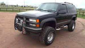 5 of 13 RARE 1997 Chevrolet 2 Door Tahoe Sport 4x4 Lifted Low Miles For Sale