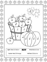 Music Coloring Pages 16 Fall Sheets