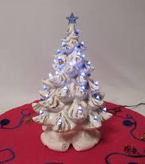 Vintage Atlantic Mold Ceramic Christmas Tree by Vintage 1960s 70s Atlantic Mold Mid Century Ceramic Light Up