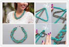 DIY Woven Bead Statement Necklace Tutorial