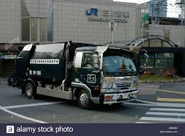 Japanese Garbage Truck Clean And Shiny Chrome Stock Photo: 3671699 ...