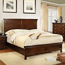 Amazon Dunhill Transitional Brown Cherry Queen Size Bed