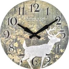 buy green decorative wall clocks from bed bath beyond