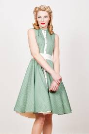 Yvonne Warmbier Vintage Dress Green