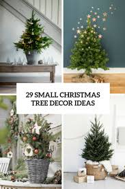 Donner And Blitzen Christmas Trees by 29 Small Christmas Tree Decor Ideas Shelterness