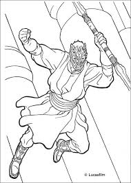 Darth Maul Coloring Page