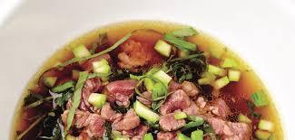cuisiner le boeuf recette léger et facile à cuisiner le bouillon de boeuf au thé