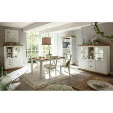 details zu esszimmermöbel set pinie weiß eiche buffetschrank 160cm esstisch highboard regal