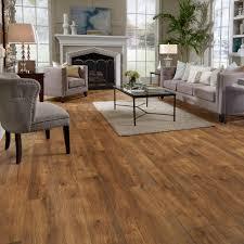 Trafficmaster Glueless Laminate Flooring Lakeshore Pecan by Hillside Hickory Laminate Floor Home Flooring Laminate Wood