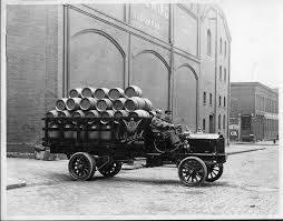 100 Packard Trucks An Early 1900s Truck Used By Goebel Brewing Co Parked On