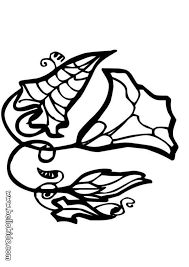 Ipomoea Flower Coloring Page