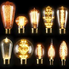 e27 40w industrial style vintage retro edison filament light bulb