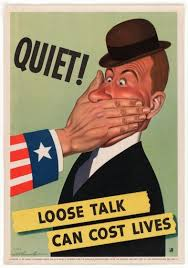 The US In World War II See Posters That Urged Secrecy