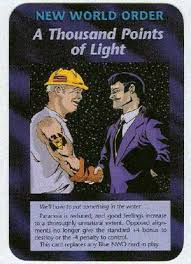 A Thousand Points Light NWO Game Trading Card
