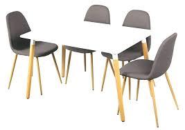 table de cuisine 4 chaises pas cher ensemble table et chaise scandinave ensemble table et chaise salle a