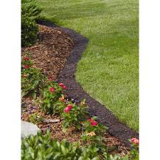 Vigoro 10 ft Brown Lawn Edging Border EB EA The Home Depot