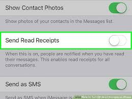How to Turn f Read Receipts on iPhone 7 Steps with