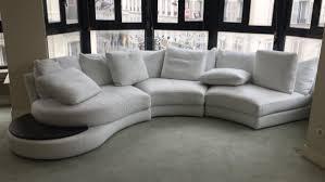 canap cuir blanc roche bobois canapé arrondi en cuir blanc roche bobois roche bobois